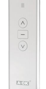 mando emisor premium 1 canal blanco